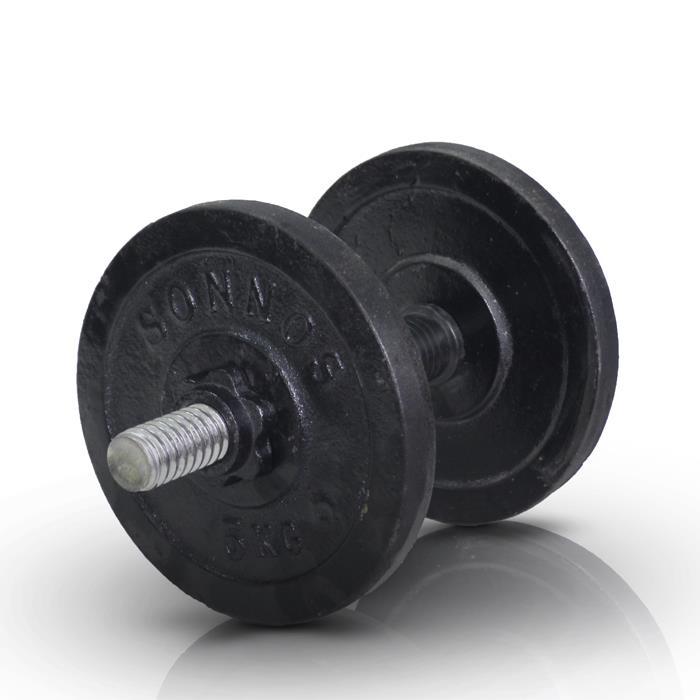 KIT 10kg DISCO FUNDICION Ø30mm (mancuerna rosca)